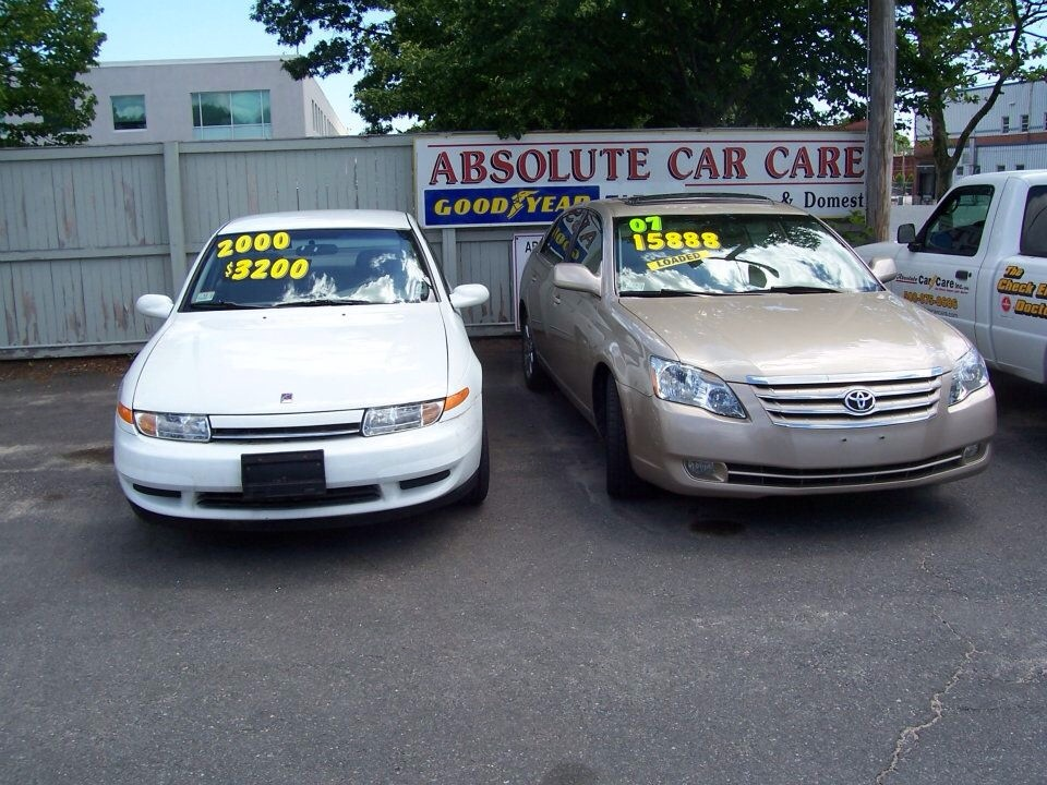 Used Cars For Sale In Framingham MA - Absolute Car Care